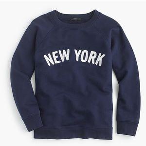 NWOT J.crew New York sweatshirt